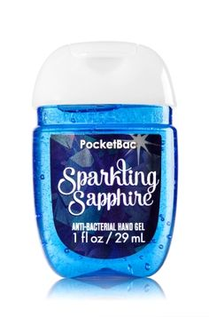 Sparkling Sapphire PocketBac Sanitizing Hand Gel - Soap/Sanitizer - Bath &…