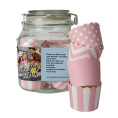 Patty Pan Glass Jar and 40 Papers | Pink by Robert Gordon's Mid-Season Savings on THEHOME.COM.AU