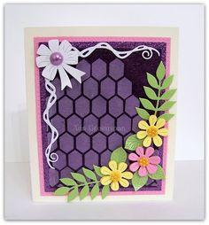 Ann Greenspan's Crafts: Cheery Lynn Chicken Wire Cards