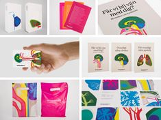 Fantastic brand identity for Vardapoteket, a Swedish pharmacy chain, by Stockholm Design Lab.