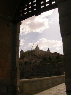 View of the Alcázar (Toledo)