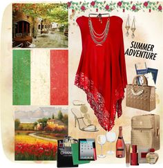 """Trip To Italy"" by colleenscdmr ❤ liked on Polyvore"
