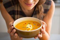 20 Healthy Breakfast Soup Recipes for Weight Loss - Focus Fitness Healthy Soup Recipes, Cooking Recipes, Delicious Recipes, Easy Recipes, Breakfast Soup, Arugula Salad Recipes, Pumpkin Smoothie, Lactation Recipes, Healthy Comfort Food
