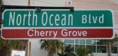North Ocean Blvd in Cherry Grove
