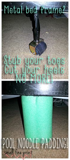 No more stubbing toes and cutting heels