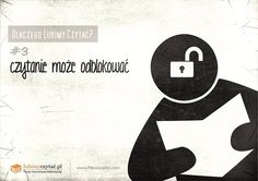 #3 czytanie może odblokowac Company Logo, Letters, Reading, Logos, Movie Posters, Letter, Reading Books, A Logo, Fonts