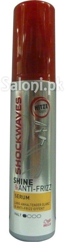 SHOCKWAVES SHINE & ANTI FRIZZ SERUM 200 ML Saloni™ Health Anti Frizz Serum, Sparkling Ice, Styling Products, Sparkle, Bottle, Health, Salud, Health Care, Glow