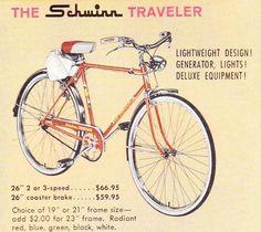 ecb5ea38f67 Vintage Schwinn Bicycle Models | 26