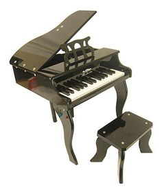 Black 30-Key Piano by True Harmony #zulily #zulilyfinds