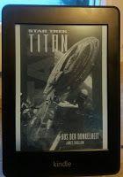 Buchvogel: Star Trek Titan #8 - Aus der Dunkelheit von James Swallow #startrek #startrektitan #startrekroman