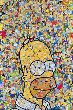 background, food, homer simpson, the simpsons Homer Simpson, Cute Wallpapers, Wallpaper Backgrounds, Iphone Wallpaper, Cartoon Wallpaper, The Simpsons, Simpsons Characters, Book Characters, Collage
