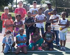 """""""For many reasons, kids from urban communities generally have few opportunities to learn and participate in the sport of tennis. But GEICO is helping to change that with its sponsorship of the Game On program."""" #therulesoftennis"""