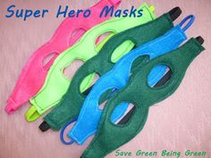 Learn how to make a fun super hero mask, it's a great Christmas present for boys and girls