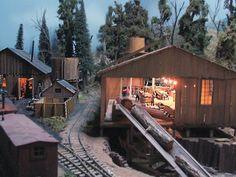 model railroad sawmills | The Tall Timber Railroad :: An On30 1930's Era Model Railroad
