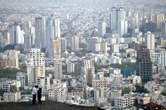 This is a Picture of Iran, tons and tons of buildings are located here
