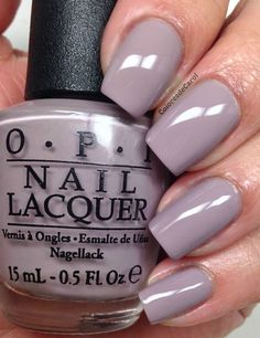 """OPI -""""Taupe-less Beach"""" nail polish/shellac from OPIs Brazil 2014 Collection. Beautiful light grayish taupe with light smokey grape undertones. A Seriously beautiful neutral. – The Best Nail Designs – Nail Polish Colors & Trends Do It Yourself Nails, How To Do Nails, Taupe Nails, Neutral Nails, Nail Lacquer, Mauve Nail Polish, Gel Polish, Nagellack Design, Beach Nails"""