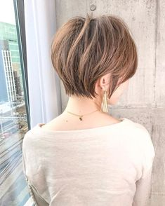 Girl Short Hair, Short Hair Cuts, Short Hair Styles, Short Bob Hairstyles, Cute Hairstyles, Hair Color For Morena, Balayage Hair Purple, Pixie Cut, New Hair