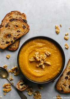 Butternut Squash, Apple and Fennel Soup