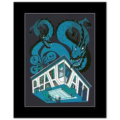 PEARL JAM - Toronto, Ontario, May 10th 2006 - Black Matted Mini Poster Pearl Jam, Concert Posters, Ontario, Toronto, Pearls, Mini, Graphics, Ebay, Black