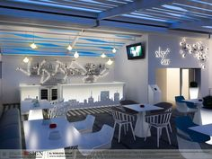 Design interior Galaxy Bar in Bucuresti - Studio inSIGN Industrial Style, Bar, Interior Design, Studio, Random, Table, Furniture, Home Decor, Elevator
