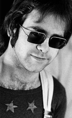 "These were actually my fave #Elton specs from ""Honky Chateau,"" and I could never find a pair quite like them. I had the sideburns, though :-)"