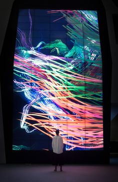 FIELD x Future Aesthetics for Design, Motion, Experiential Interactive Walls, Interactive Installation, Interactive Design, Interior Design And Technology, Art And Technology, Digital Signage, Digital Wall, Projection Installation, Art Installations