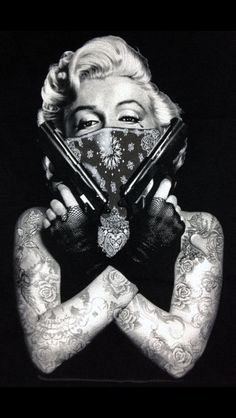 thug out Marilyn Monroe love this!!