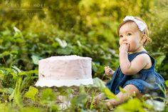 Emma's One Year San Francisco Presidio Forest Cake Smash Session   Cristin More Photography