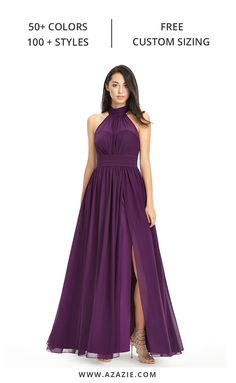 The perfect bridesmaid dresses for all body types. Azazie provides countless styles in various colors to ensure that everyone can find their dream dress. Use our free custom sizing for the perfect fit - which really makes for the ultimate bridesmaid dress. Say yes to the dress at Azazie today.