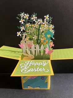 Ostern-Pop Up Box Karte schöne Ostern Pop-up Karte schöne