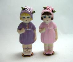 Porcelain Penny Dolls Daisy Head by dollladydiana on Etsy, $12.00