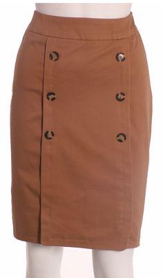 Nueva Colección Otoño Invierno 2012 Falda seis botones Casual Skirts, Cute Skirts, Mini Skirts, Plus Size Gowns, Skirt Patterns Sewing, Winter Skirt, Skirt Outfits, African Fashion, Dress Skirt