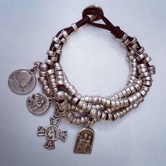 #silverplated #bracelet #pulseras #cueropulseras #leatherbracelet #bracelets #bohochic #instajewelry #jewellerybox #etnicstyle #etsy #bohem #l4l#festival #gipsy #roma #milano #newyork #paris #london #bohogirl #ibiza #bohochic #necklace #stil #chic #charms #accessories #