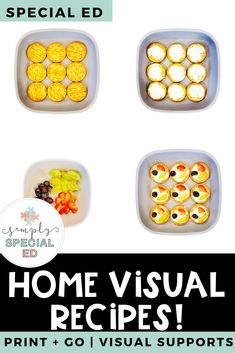 Special Education At Home Learning Bundle Home Learning, Learning Resources, Teacher Resources, Special Ed Teacher, Special Needs Students, Schedule Board, Picture Comprehension, Cooking In The Classroom, Cut And Paste Worksheets