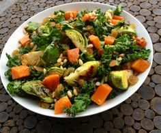 Recipe Of The Week: Kale, Brussels Sprout And Butternut Squash Salad