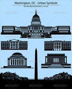 Realistic Graphic DOWNLOAD (.ai, .psd) :: http://hardcast.de/pinterest-itmid-1003737065i.html ... Washington, DC - Urban Symbols ...  Jefferson Memorial, america, buildings, capital, historic, house, lincoln memorial, president, state, the united states capitol, the white house, usa, washignton monument, washington  ... Realistic Photo Graphic Print Obejct Business Web Elements Illustration Design Templates ... DOWNLOAD :: http://hardcast.de/pinterest-itmid-1003737065i.html