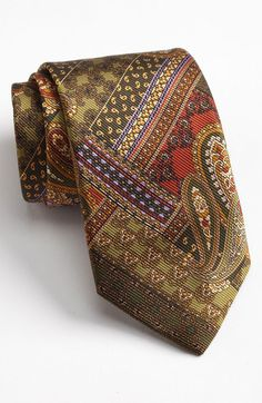 Ties for Men Suit Fashion, Mens Fashion, Shirt Tie Combo, Bow Neck Ties, Paisley Tie, Designer Ties, Classy Men, Tie And Pocket Square, Suit And Tie