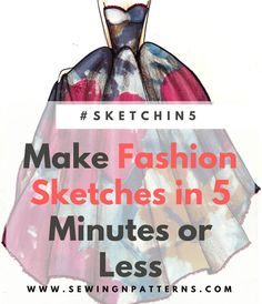 Learn how to draw fashion sketches quick and easy with this step by step fashion illustration tutorial for beginners. Grab your Free fashion templates here.