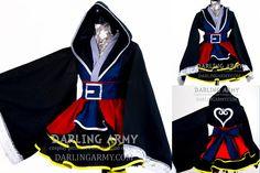 Sora Kingdom Hearts II Cosplay Kimono Dress by DarlingArmy