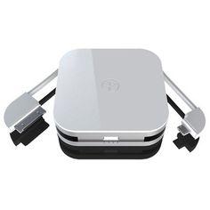 Duracell Powermat Portable Backup Battery - White