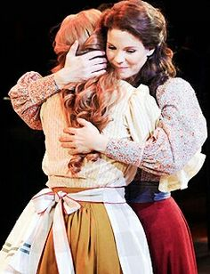 Kelli O'Hara and Jessie Mueller in Carousel Broadway Theatre, Musical Theatre, Carousel Musical, Jessie Mueller, Kelli O'hara, Waitress Musical, The Pajama Game, Laura Osnes, Tony Award Winners