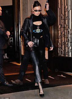 Channel 90's supermodel in vintage Vivienne Westwood #DailyMail