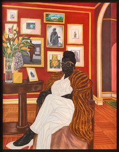 Toyin Ojih Odutola (born is a visual artist from Nigeria. Art And Illustration, Toy Art, African American Art, African Art, Arte Lowbrow, Arte Pop, Black Artists, Figure Painting, Artist Art