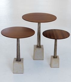 Side and Coffee Tables Johnny Poux