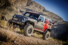 """TeraFlex Jeep Build: 2016 JKU Rubicon (The Harbinger) 3"""" Outback Suspension System, 3.3 Falcon shocks, 37"""" tires, etc.  Click to view Dennis' entire build list on this Jeep he loves."""