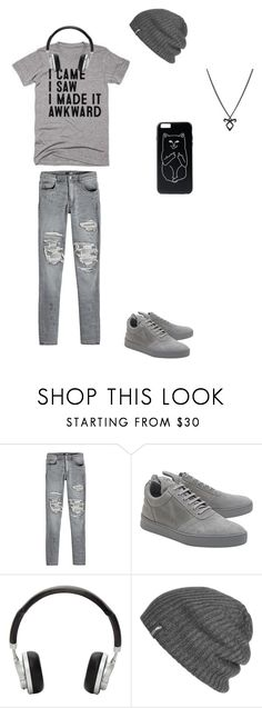 """""""I made it """"awkward""""  style"""" by rainycatz-12 on Polyvore featuring AMIRI, Filling Pieces, Master & Dynamic, Outdoor Research, Rune NYC, men's fashion and menswear"""