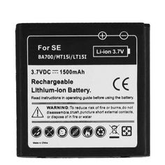Mobile+Phone+Battery+for+Sony+Ericsson+BA700/+MT15i/+LT15i+/+Xperia+Neo