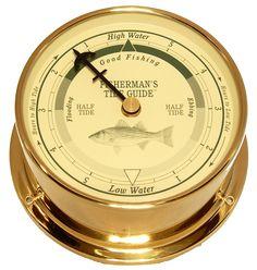 Downeaster Fishing Tide Clock, Saltwater