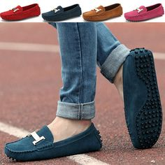 2014 Spring New Casual Hot Pink Yellow Red Brown Genuine Leather Driving Gommini Women Loafers Shoes Moccasin Flats