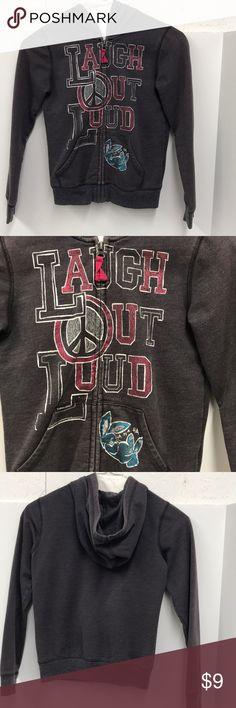 """Old Navy Boys Hoodie Jacket Old Navy Boys Hoodie Jacket """"Laugh Out Loud"""" Old Navy Jackets & Coats"""